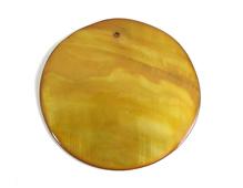 22345 Z22345 Colgante concha de madreperla disco brillante oro Innspiro