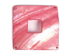 22363 Z22363 Colgante concha de madreperla hebilla brillante rojo Innspiro