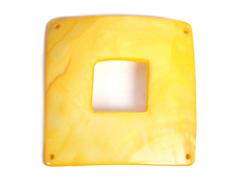 Z22364 22364 Colgante concha de madreperla hebilla brillante melocoton Innspiro