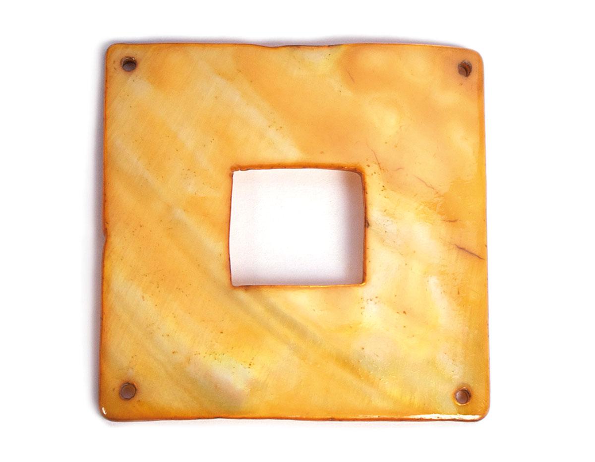 Z22365 22365 Colgante concha de madreperla hebilla brillante oro Innspiro