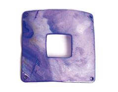 Z22368 22368 Colgante concha de madreperla hebilla brillante azul marino Innspiro