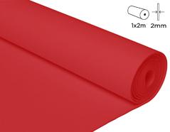 22717 Goma eva rojo 100x200cm 2mm 1u Thou