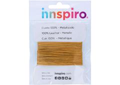 240805 240705 240605 Cordon cuero metalico bronceado Innspiro