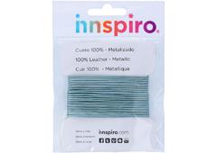 240810 240710 240610 Cordon cuero metalico azul cielo Innspiro