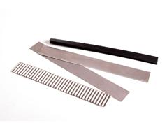2508 Set 3 cuchillas acero para pastas Innspiro