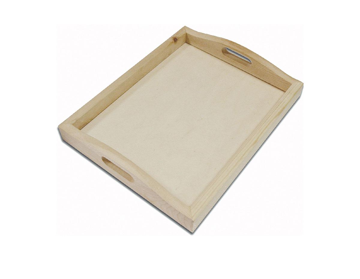 261 262 Bandeja madera de pino macizo con vidrio Innspiro
