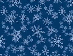 300247 Papel para decoupage copos de nieve azul Innspiro