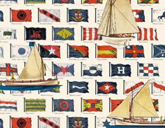300330 Papel para decoupage banderas Innspiro