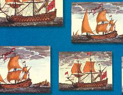 300612 Papel para decoupage barcas Innspiro