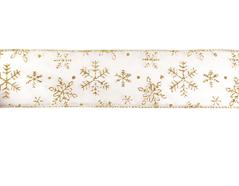 30161 Cinta decorativa blanca nevada Innspiro