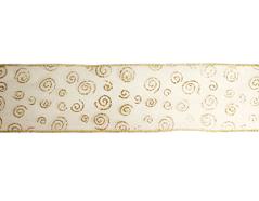 30172 Cinta decorativa dorada espiral Innspiro - Ítem