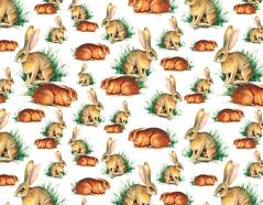 301737 Papel para decoupage conejo Innspiro