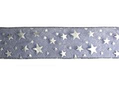 30192 Cinta decorativa azul marino con estrellas Innspiro