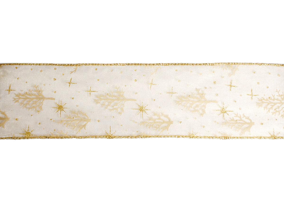 30220 Cinta decorativa dorada invierno Innspiro