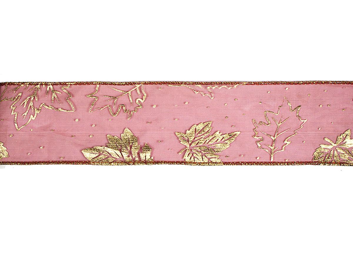 30230 Cinta decorativa lila hojas otono Innspiro