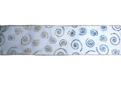 30240 Cinta decorativa azul espiral Innspiro