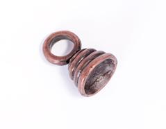 31028 Z31028 Colgante metalico zamak campana cobrizo envejecido Innspiro - Ítem