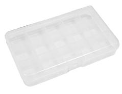 311 Caja plastico de 15 compartimentos transparente Innspiro