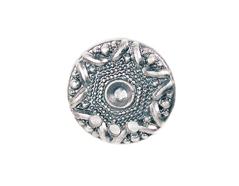 Z31345 31345 Pendiente metalico zamak estrella plateado Innspiro