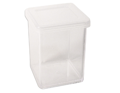 318 317 Bote plastico cuadrado con tapa Innspiro