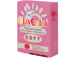 3203 Pasta polimerica soft fucsia ClayColor - Ítem