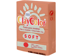 3204 Pasta polimerica soft naranja ClayColor