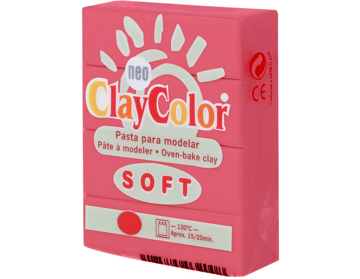 3205 Pasta polimerica soft rojo ClayColor