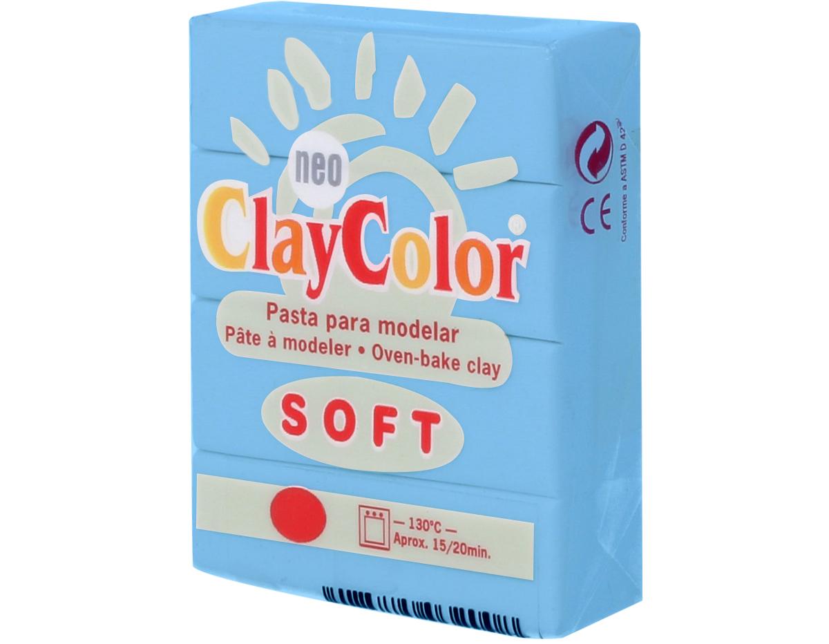 3207 Pasta polimerica soft azul cielo ClayColor