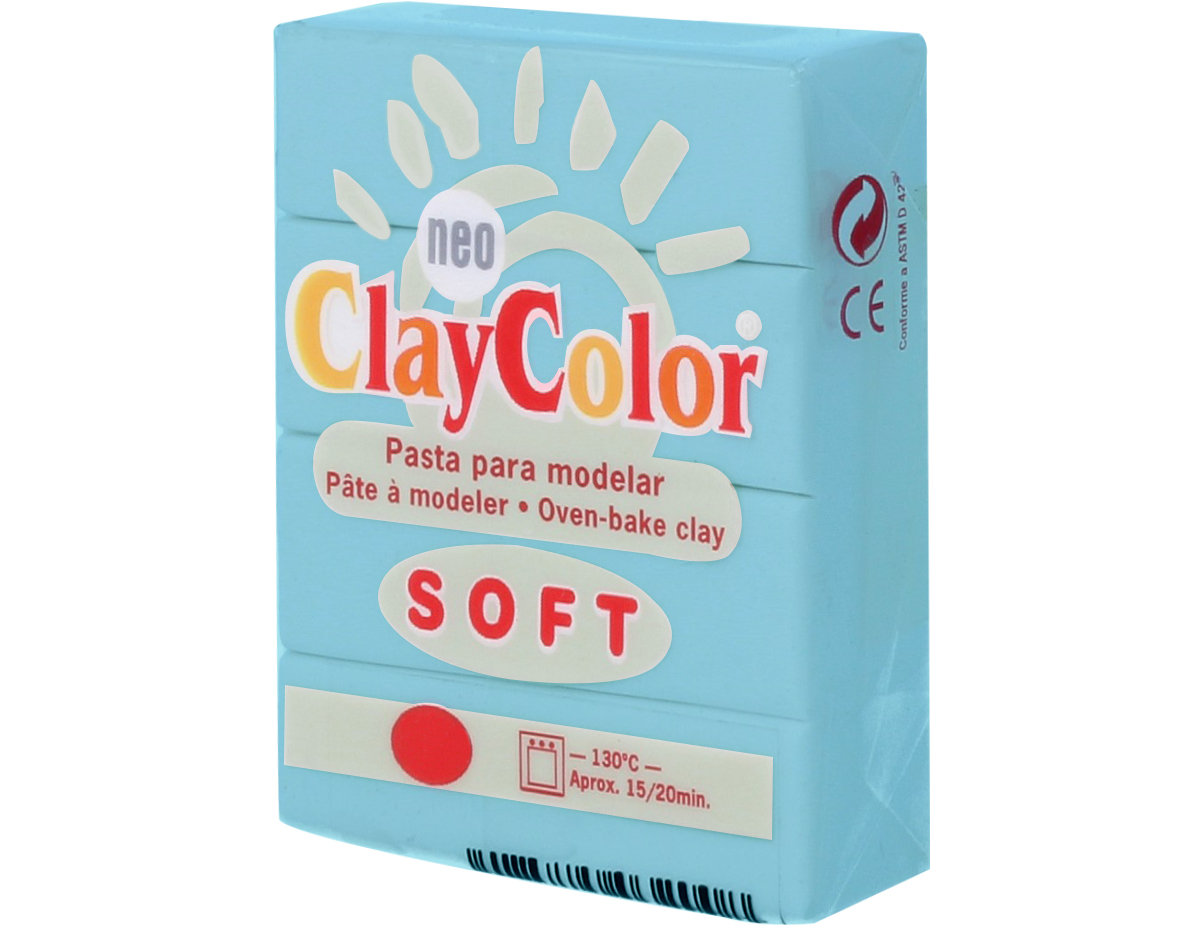 3209 Pasta polimerica soft turquesa ClayColor
