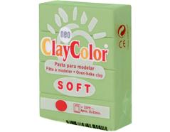 3210 Pasta polimerica soft verde primavera ClayColor