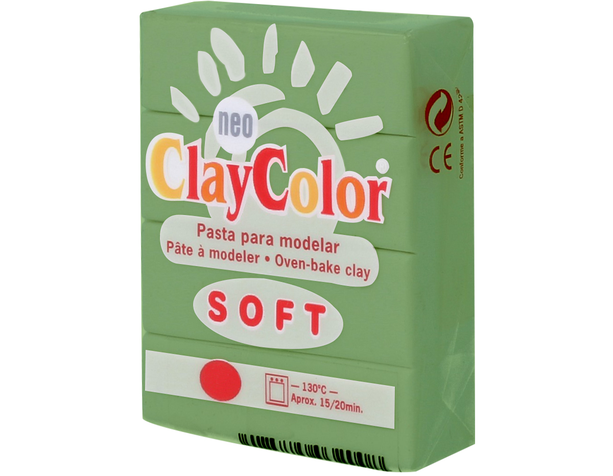 3211 Pasta polimerica soft verde aguacate ClayColor