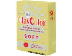 3212 Pasta polimerica soft amarillo claro ClayColor