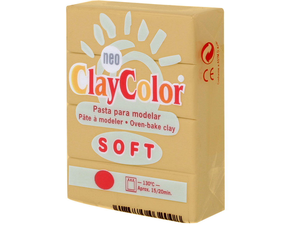 3214 Pasta polimerica soft ocre ClayColor