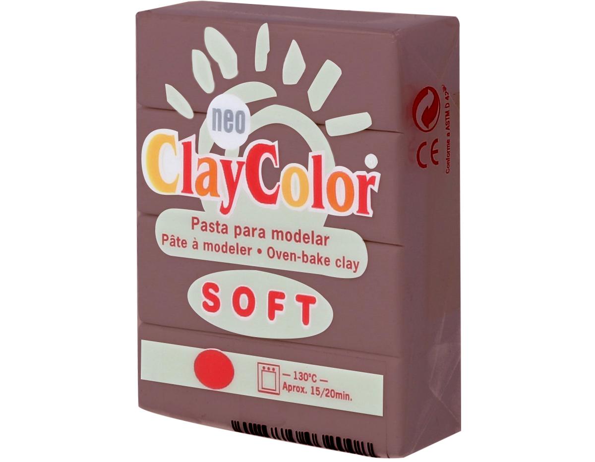 3216 Pasta polimerica soft marron oscuro ClayColor