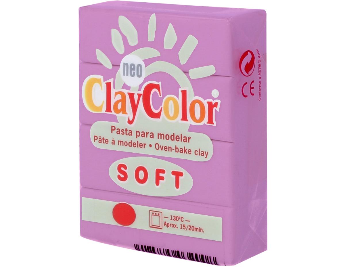 3217 Pasta polimerica soft morado ClayColor