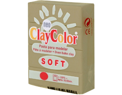 3220 Pasta polimerica soft cafe con leche ClayColor