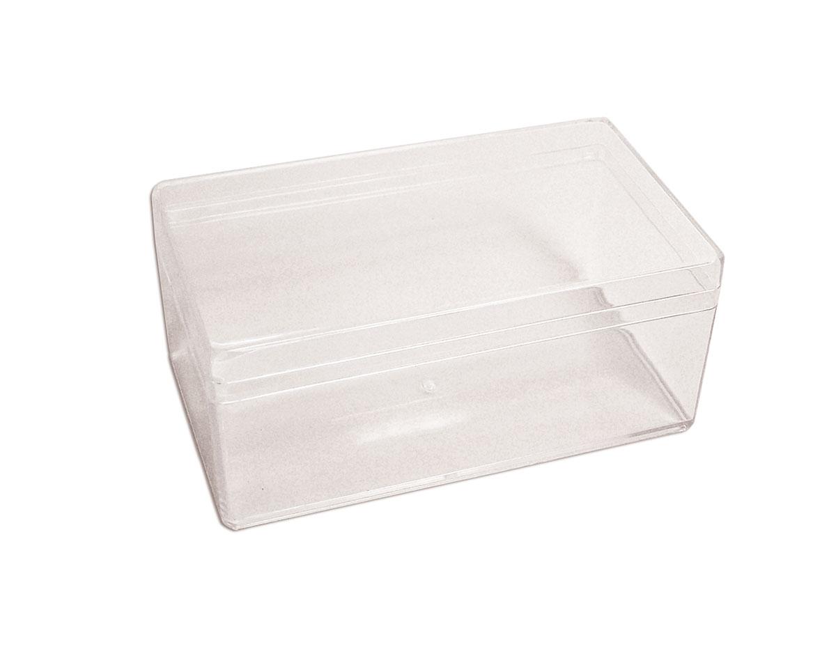 326 Caja plastico rectangular transparente Innspiro
