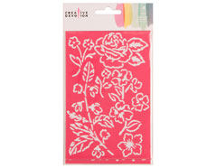 342998 Set 4 plantillas Stencils American Crafts