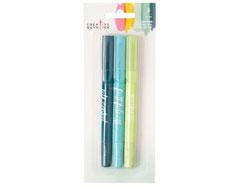 343477 Set 3 crayons de gel Gel Crayons Set 1 American Crafts