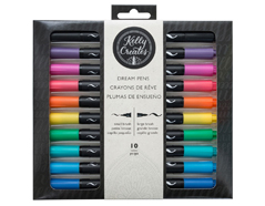 343551 Set 10 rotuladores doble punta lettering Kelly Creates Dream Pens American Crafts
