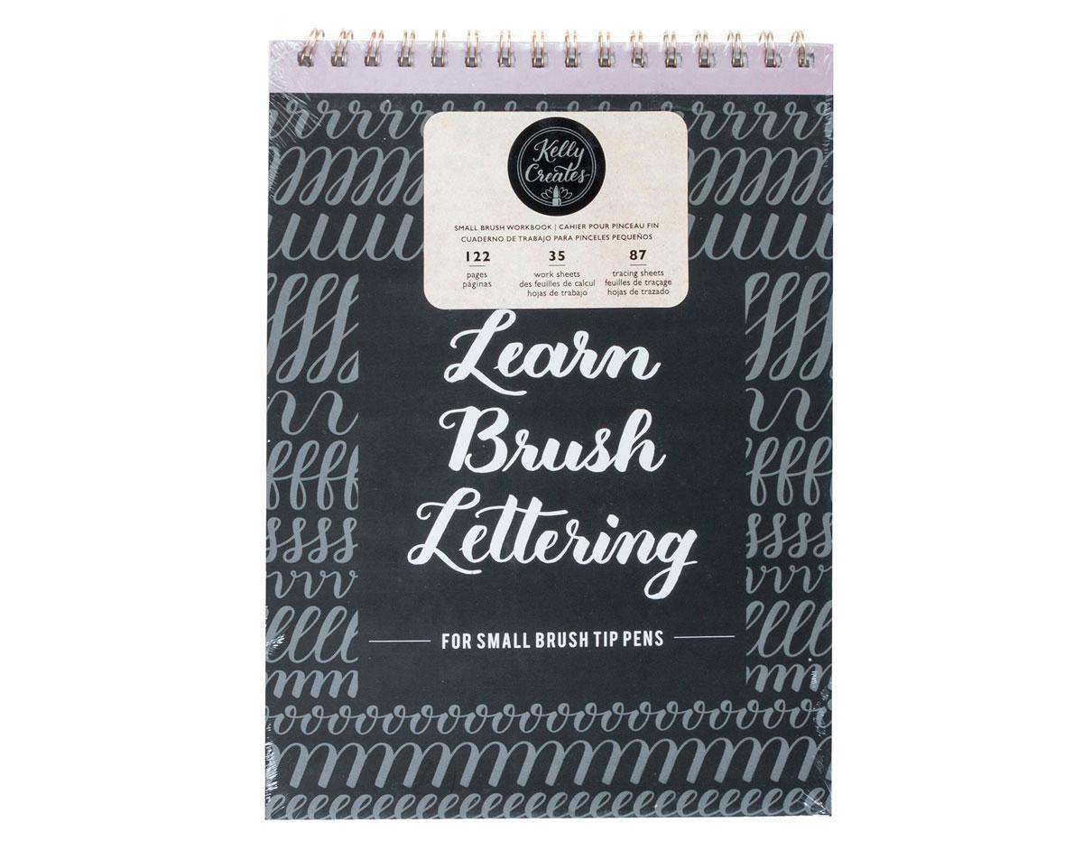 343560 Cuaderno caligrafia Kelly Creates Small Brush Workbook American Crafts