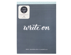 343578 Cuaderno con cuadricula Kelly Creates Grid Pad American Crafts