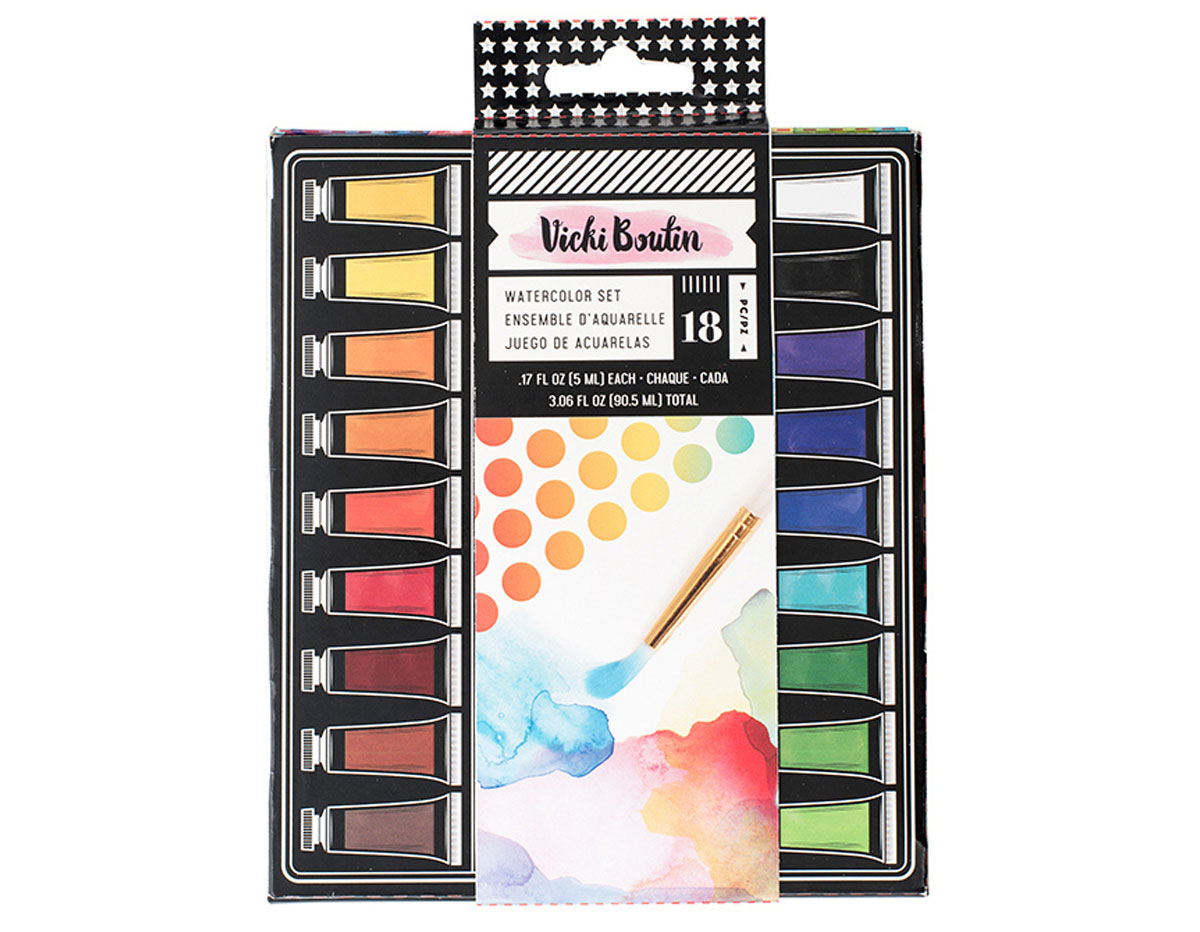 343920 Set acuarelas Vicky Boutin Watercolor American Crafts