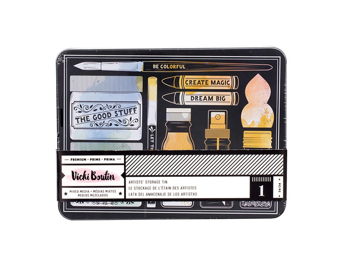 343933 Caja de almacenaje Vicky Boutin Artist s Storage Tin American Crafts