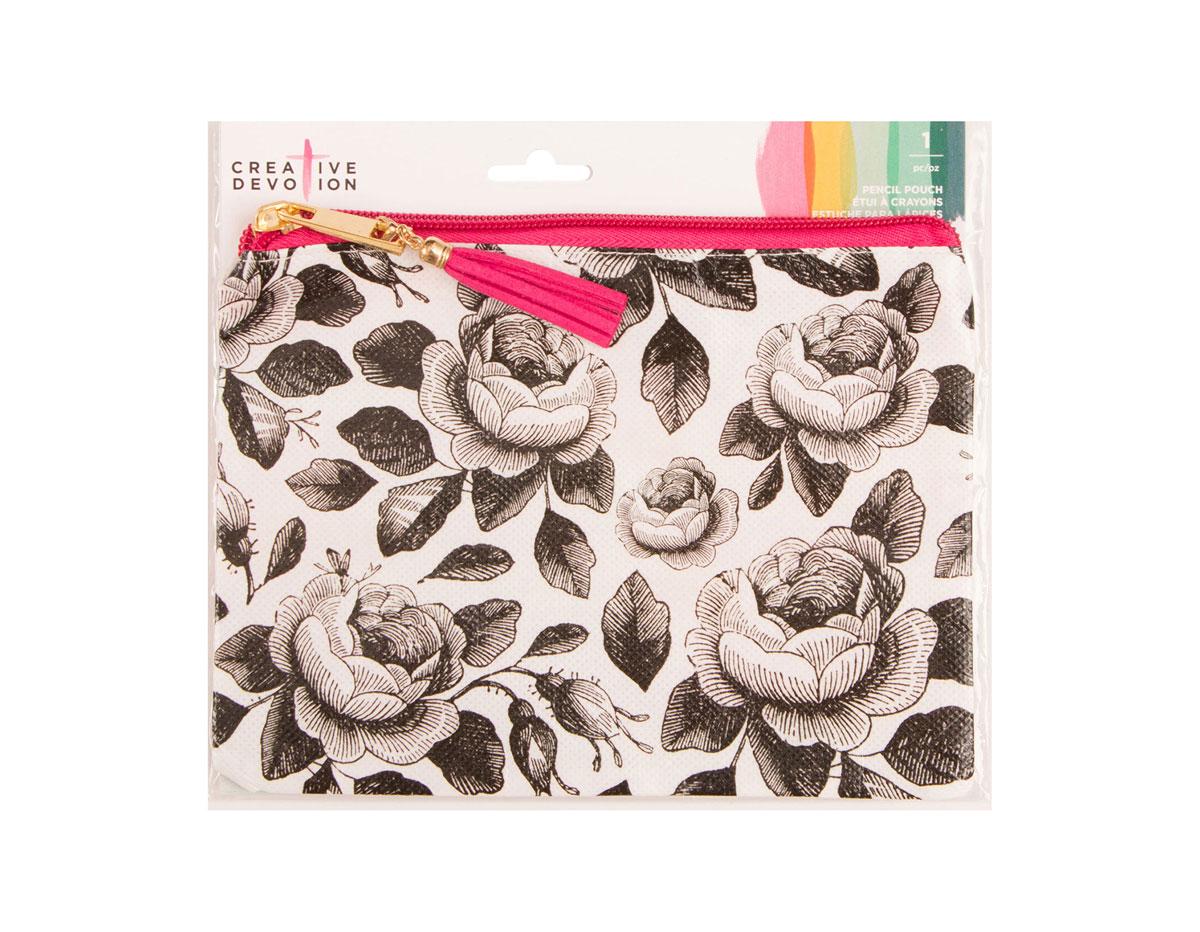 346402 Estuche textil Pencil Pouch 2 American Crafts