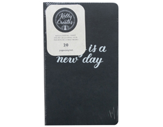346404 Cuaderno hojas negras para Kelly Creates Journal American Crafts