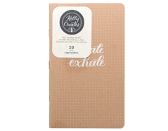 346405 Cuaderno hojas con puntos para Kelly Creates Journal American Crafts