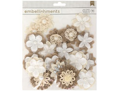 346674 Flores textiles y de papel Fabric and Paper Flowers American Crafts