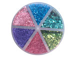 346697 Set de purpurina Moxy Glitter Shaker Jewel Thief 6 colores American Crafts - Ítem2