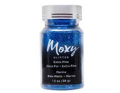 346756 Purpurina Moxy Extra Fine Glitter Marine American Crafts